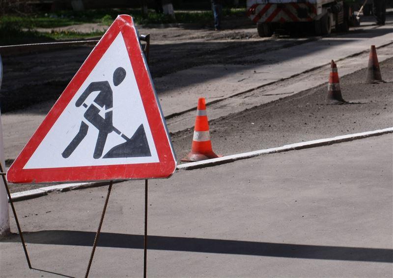 Какие участки дорог перекроют из-за ремонта в Алматы