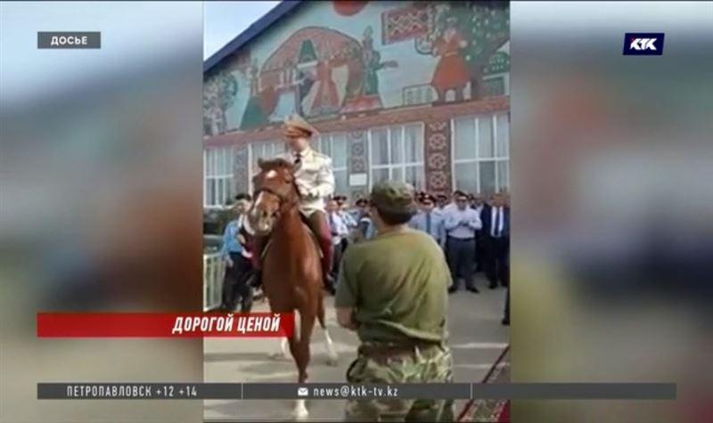 Глава МВД просит уволить генерал-майора из-за породистого скакуна