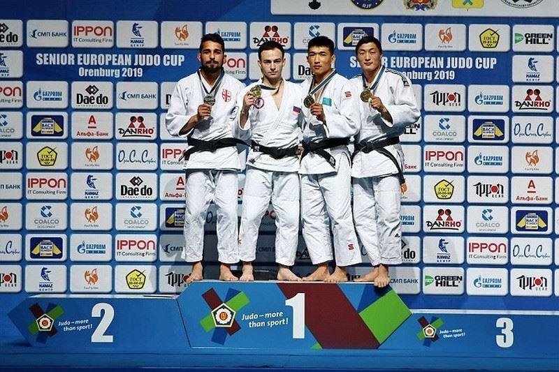 Казахстан завоевал 2 бронзовые медали на Кубке Европы
