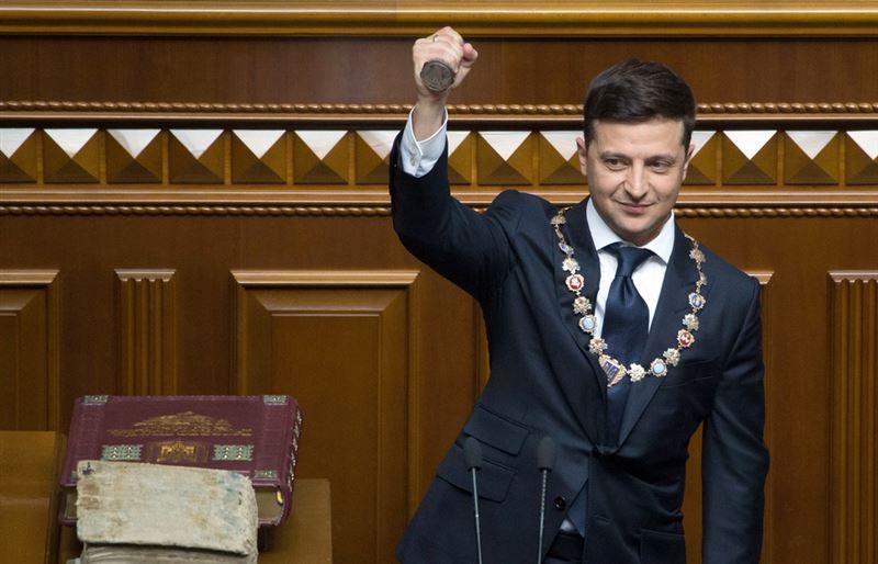 Зеленский принес присягу президента Украины