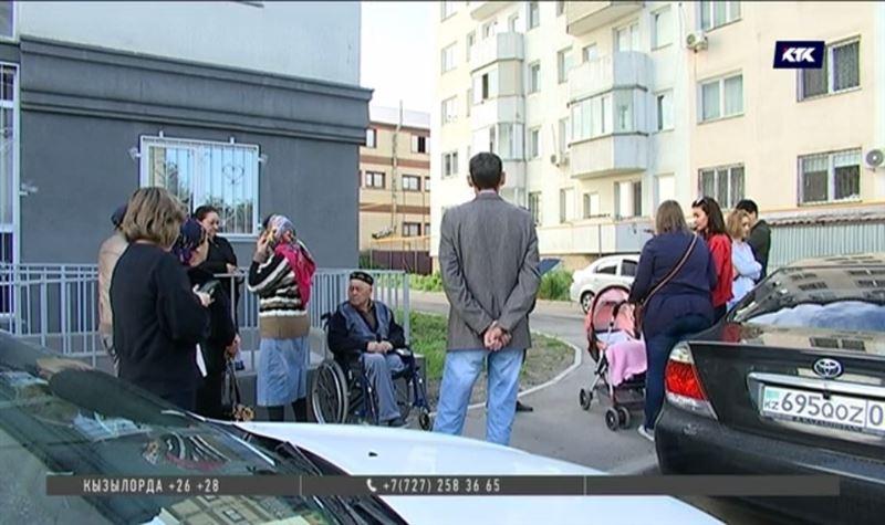 Участок под новым жилым комплексом в Алматы оказался в аресте