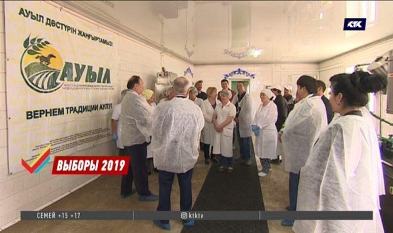Толеутай Рахимбеков планирует производить курт и кумыс в промышленных масштабах