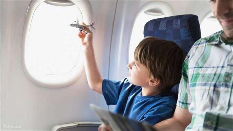 В Казахстане могут появиться бесплатные авиабилеты для детей