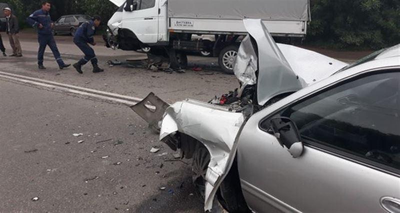 4 человека пострадали в ДТП в Алматы