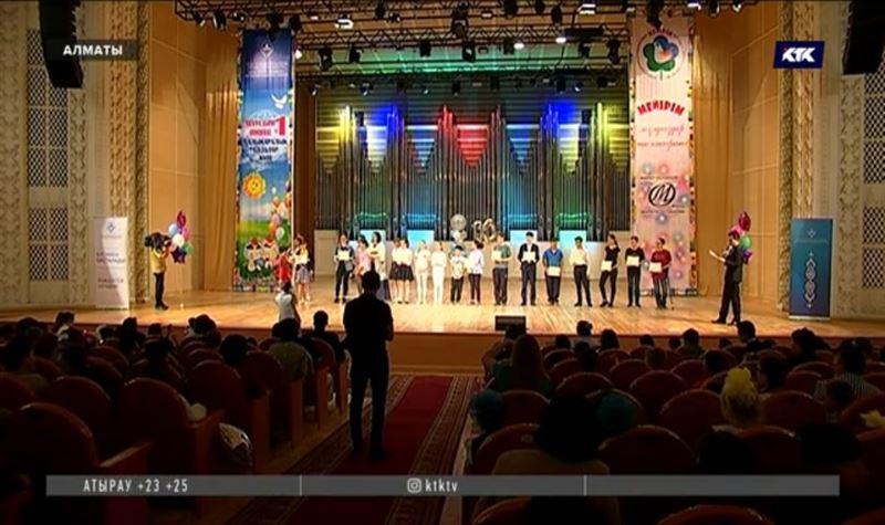 Фестиваль детского творчества «Мейiрiм» отмечает 10-летие