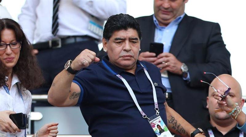 Марадона миллиондаған қарызы үшін тұтқындалды