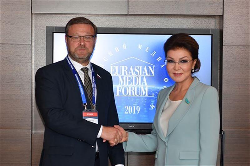 Председатель сената встретилась с Константином Косачевым