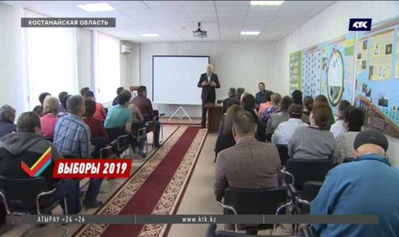 Программу Амиржана Косанова разъясняли в Костанайской области