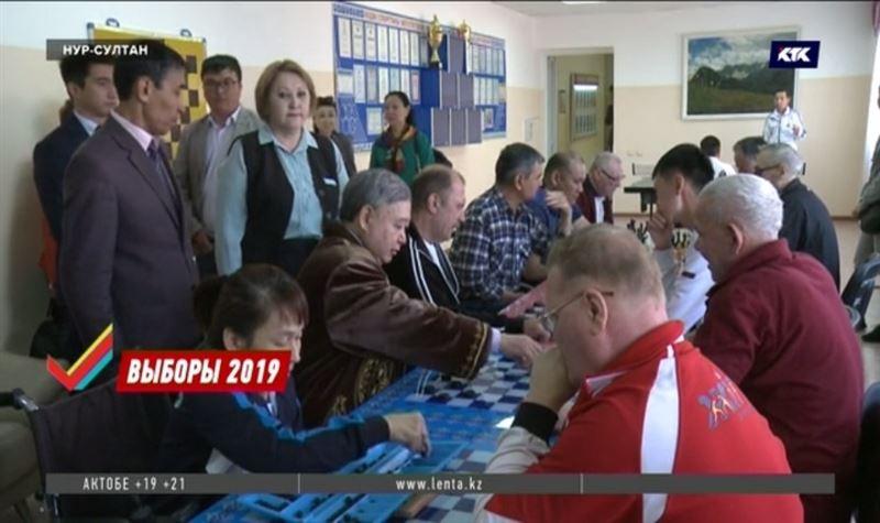 Садыбек Тугел изложил свою программу пожилым избирателям