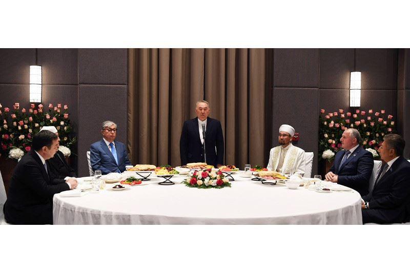 Нұрсұлтан Назарбаев қасиетті Рамазан айында ауызашар берді