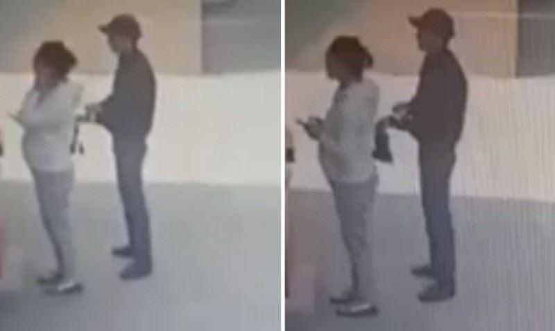 Елордада банкоматтан ақша алып тұрған әйелдің тоналған сәті видеоға түсіп қалды
