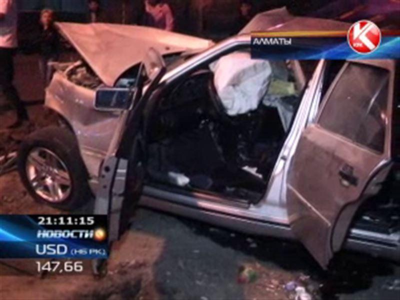 Два ДТП со смертельным исходом произошли в Алматы