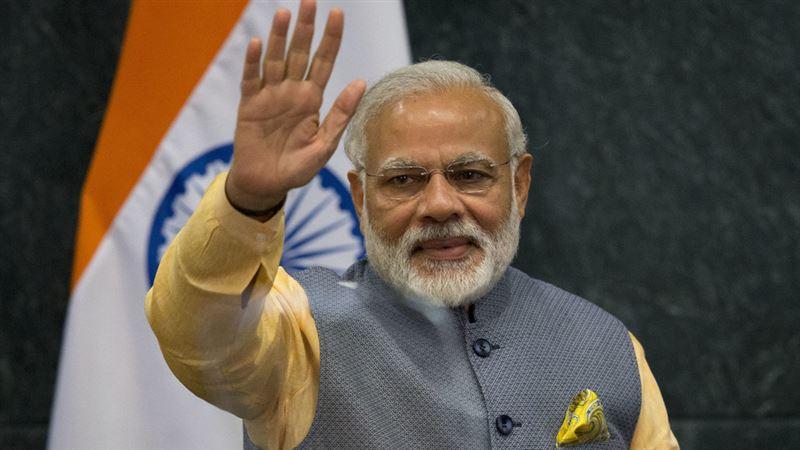 Глава государства направил поздравительную телеграмму Нарендре Моди