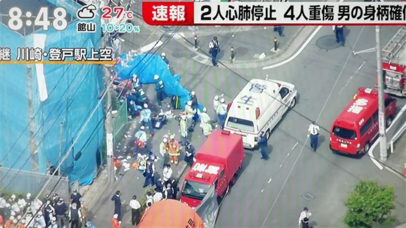 В Японии мужчина с ножом напал на школьников
