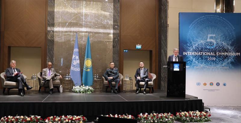 V симпозиум ООН по партнерству в технологиях для миротворчества стартовал в Нур-Султане