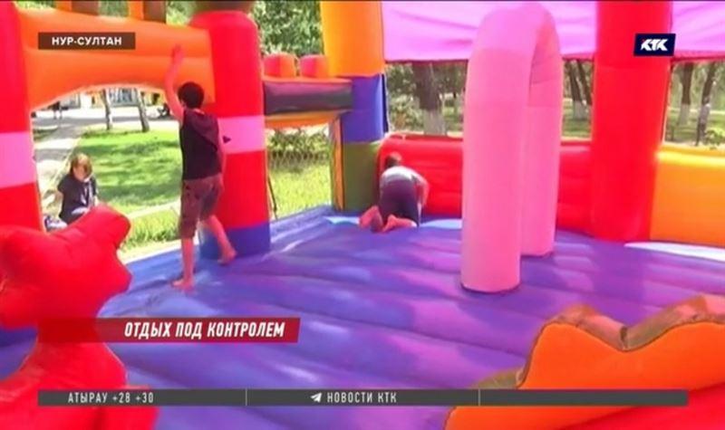 В Казахстане пытаются понять, кто должен контролировать детские аттракционы