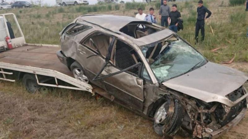 Алматы облысында жол апатынан бүтін бір отбасы көз жұмды