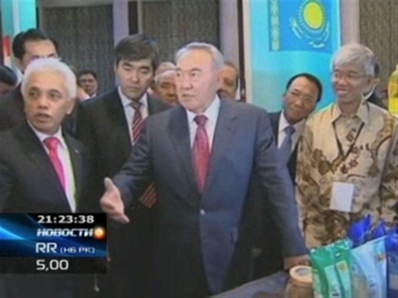 Нурсултан Назарбаев покорил Индонезию