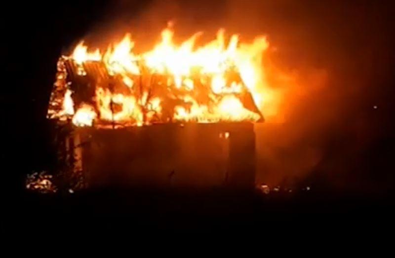 Порядка 30 дач было уничтожено пожаром в Темиртау