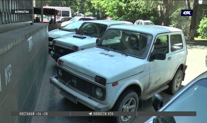 Угонщиков в Алматы интересуют «Мазды» и «Нивы»