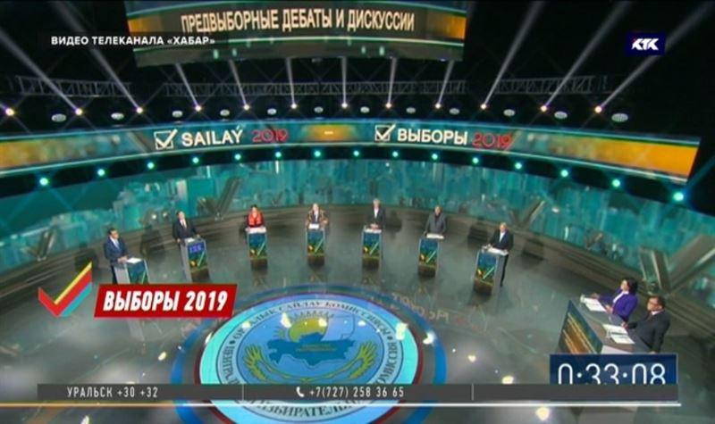 Кандидаты в президенты встретились на теледебатах