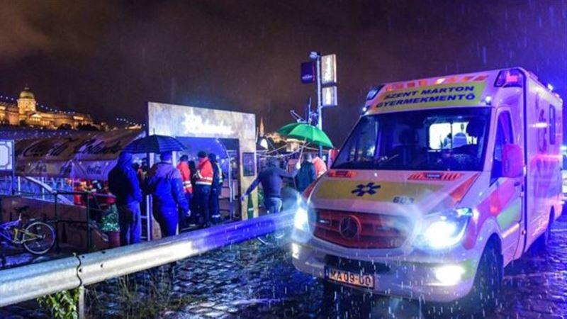 В Будапеште затонул катер с туристами. Есть жертвы