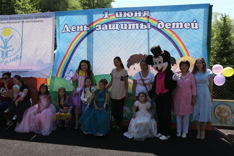 В реабилитационном центре «Балбулак» состоялся концерт, посвящённый Международному дню защиты детей