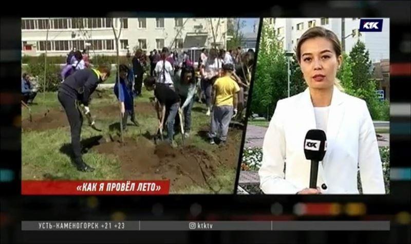 Почти миллион казахстанских школьников собирается подрабатывать на каникулах