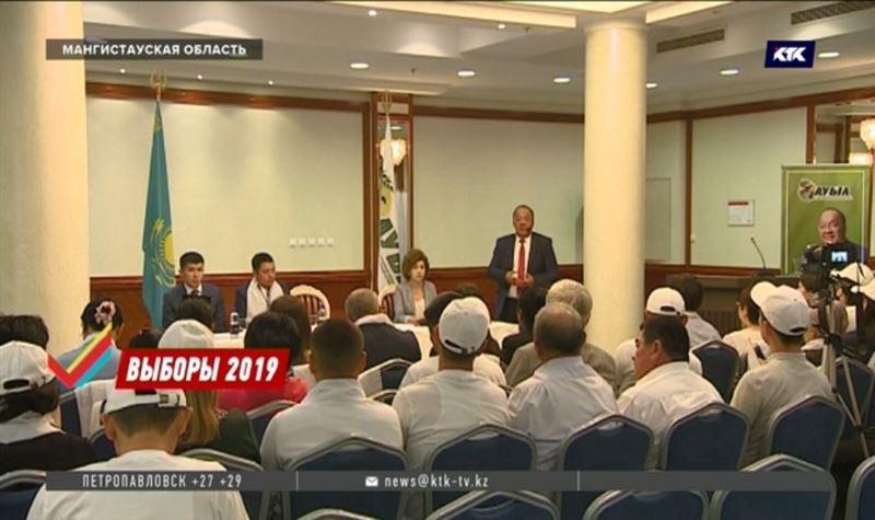Толеутай Рахимбеков поделился планами с избирателями Мангистауской области