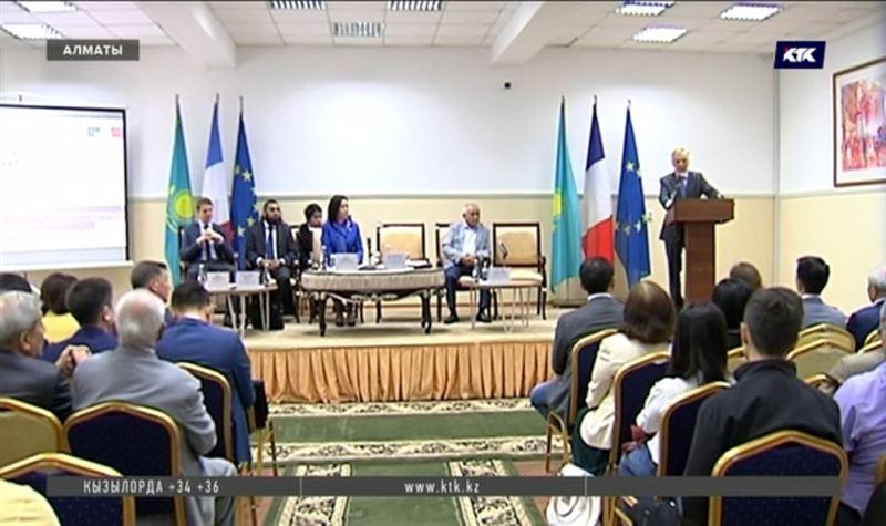 В Алматы впервые встретились казахстанские и французские эксперты в области права
