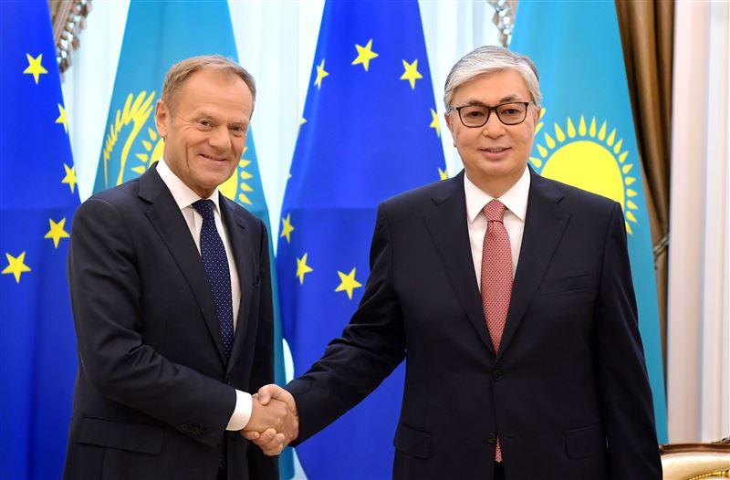 Касым-Жомарт Токаев провёл переговоры с председателем Европейского совета