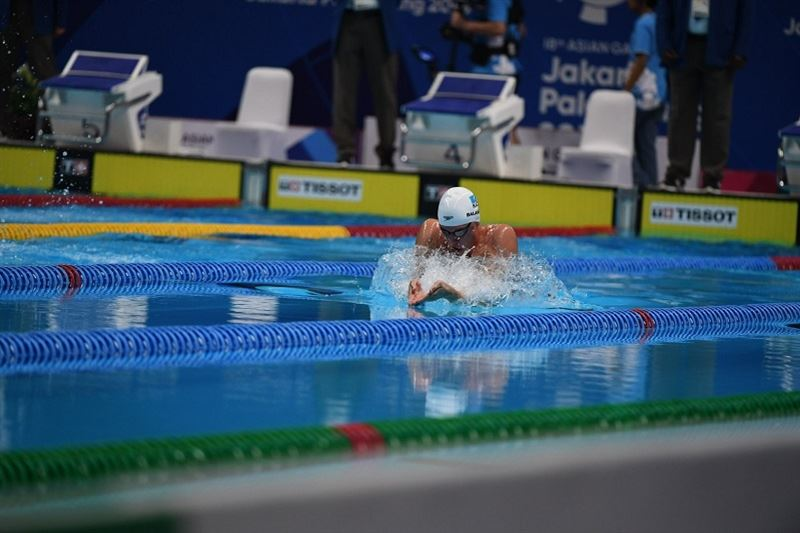 Баландин взял «серебро» мирового турнира Champions Swim Series