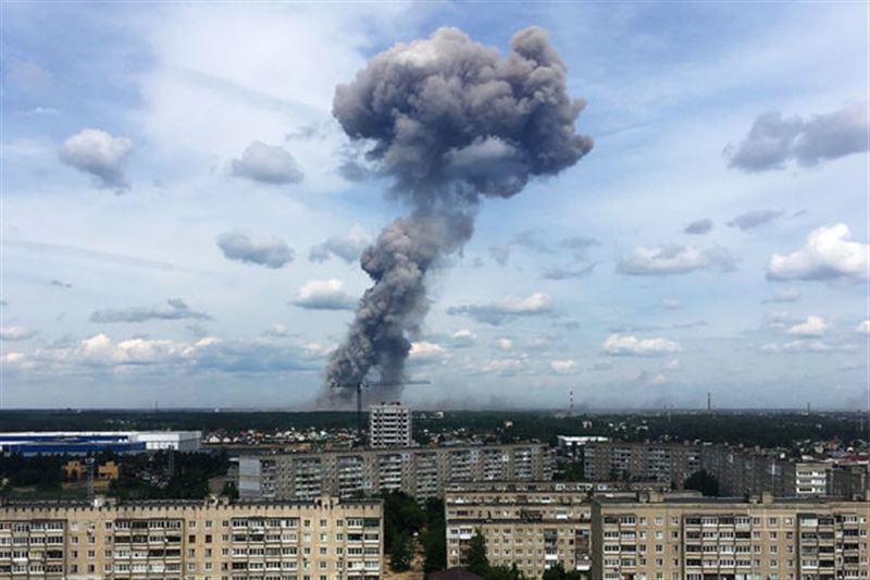 В России прогремели взрывы на заводе, производящем тротил