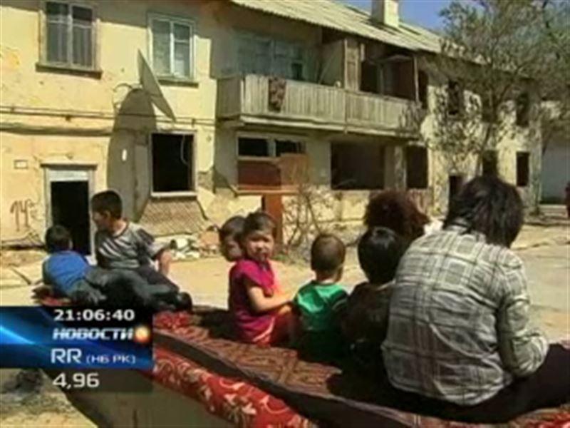 В Актау сразу три семьи остались на улице