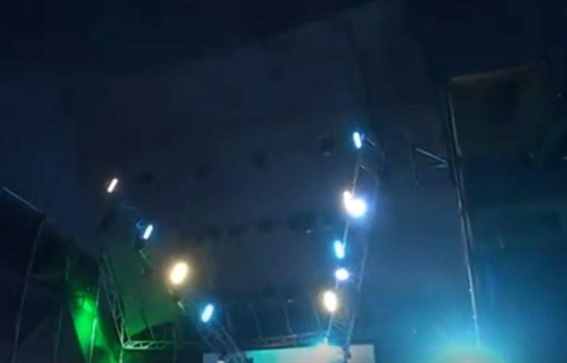 Во время музыкального фестиваля на людей обрушилась крыша сцены
