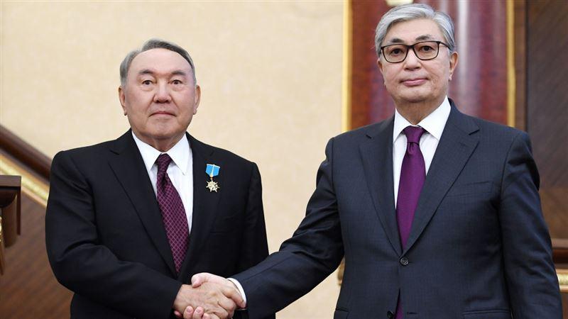 Токаев: Я не стесняюсь советоваться с Назарбаевым
