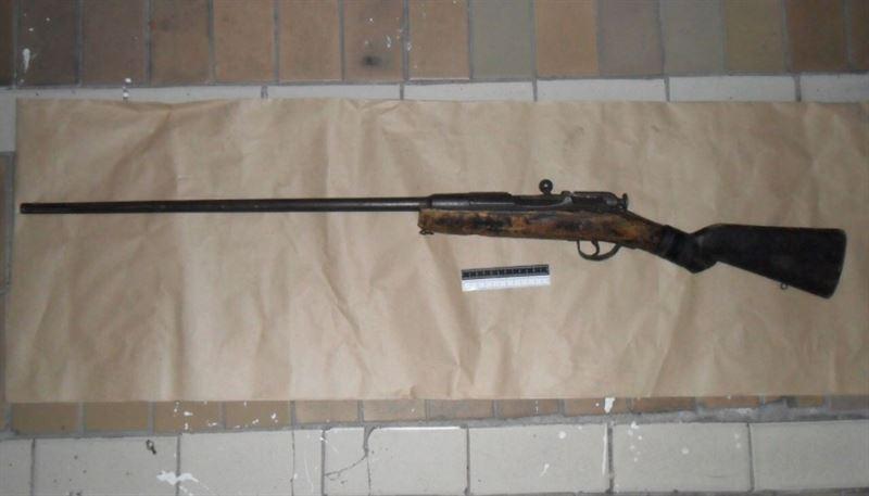 Незарегистрированное оружие XIX века изъяли у пожилого жителя Семея