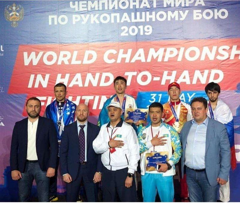 17 наград завоевали казахстанские спортсмены на ЧМ в Санкт-Петербурге
