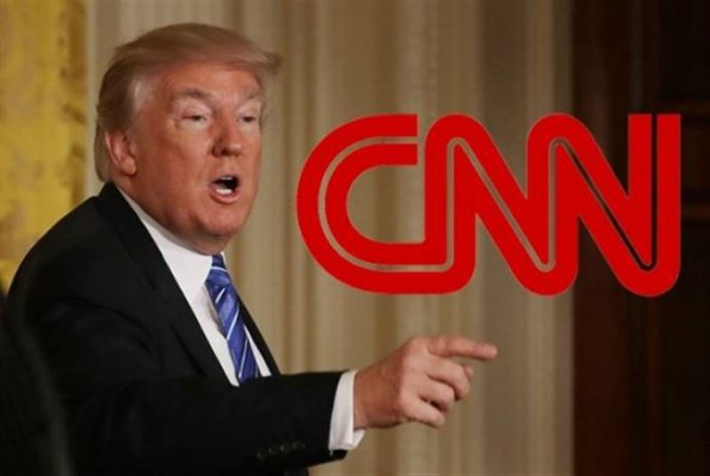 Не смог смотреть: Трамп заявил о фейковых новостях на CNN