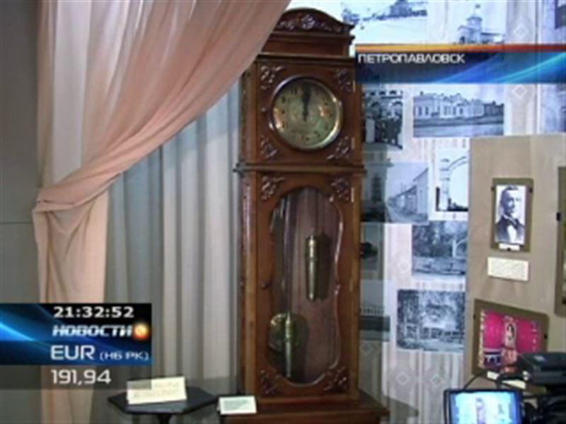 В Петропавловске показали коллекцию раритетных часов