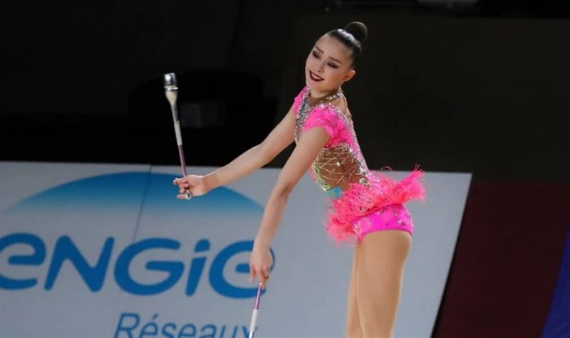Гимнастка Жуматаева из Казахстана дисквалифицирована на 4 года из-за допинга