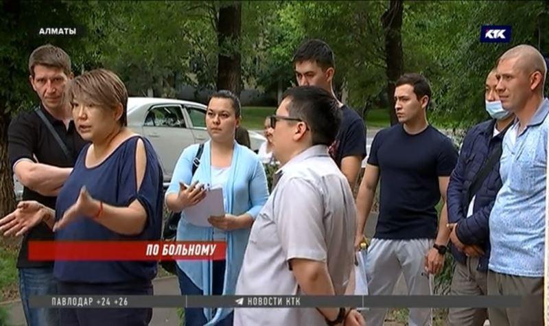 Врачи и пациенты частного медцентра Алматы обратились в полицию