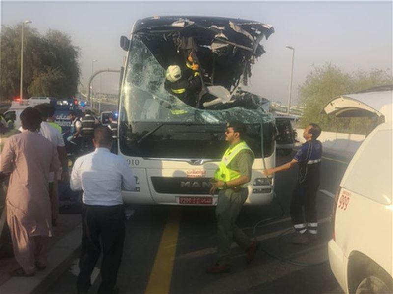 Дубайда жол апатынан 17 турист қаза тапты