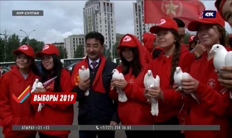Коммунисты закончили агиткампанию флешмобом