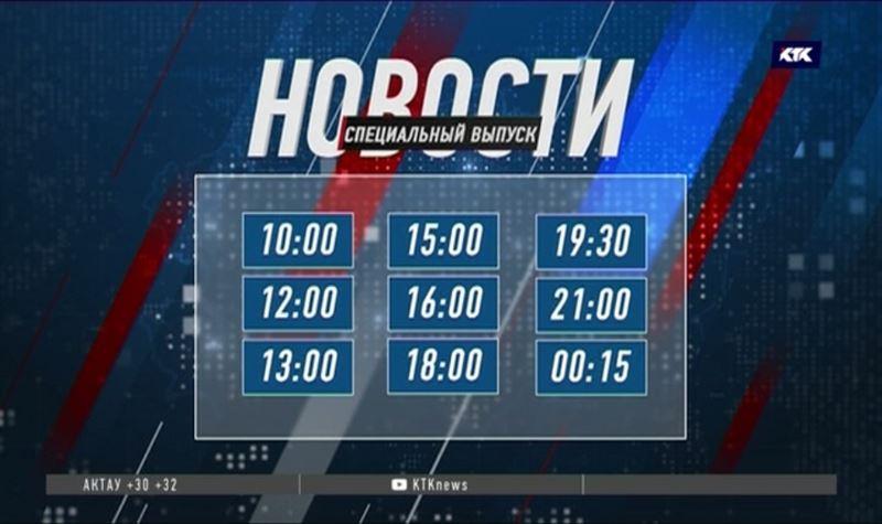 Информационный марафон в день выборов на КТК
