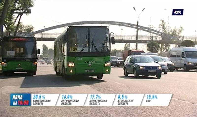 В день выборов общественный транспорт возит пассажиров бесплатно