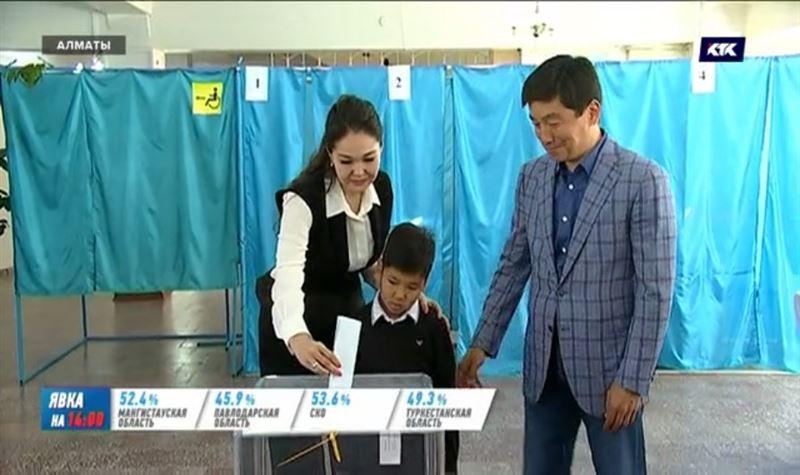 Акимы Нур-Султана и Алматы проголосовали на выборах президента РК