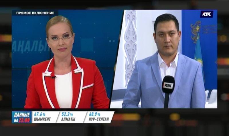 Экзит-поллы определили первую тройку лидеров на выборах президента