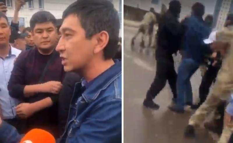 Полиция Ринат Зайытовтың не үшін ұсталғанын айтты