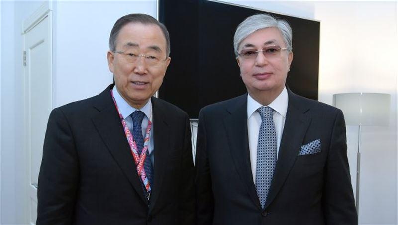 Касым-Жомарт Токаев получил поздравительную телеграмму от Генерального секретаря ООН